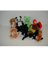 Lot of 8 Ty Beanie Baby Babies Plush No Tags 1996 to 1999 - $19.70