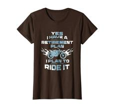 Brother Shirts - Motorcycle Retirement Plan To Ride It T-Shirt Rider Biker Wowen image 5
