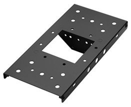 """Architectural Mailboxes 7540B-10 Mailbox Adapter Plate, 4"""" x 4"""", Black - $16.54"""