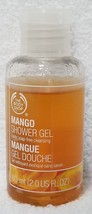 The Body Shop MANGO Shower Gel Exotic Soap-Free Cleansing Travel 2 oz/60mL New - $7.92