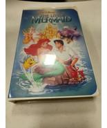 "VHS Walt Disney Black Diamond, The Little  Mermaid  Rare ""Banned"" Front ... - $950.39"