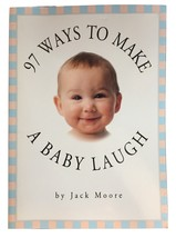 97 Ways to Make a Baby Laugh by Jack Moore mini book great mother's day ... - $3.50