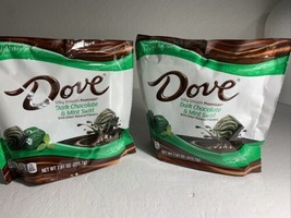 2 Bags - Dove Promises, Dark Chocolate Mint Swirl Candy, 7.61 Oz. - $32.00