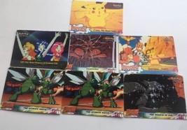 Original Nintendo Pokémon Animated Movie Cards X 7 - $7.12