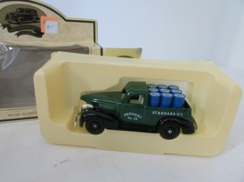 DIECAST LLEDO DIECAST RPM MOTOR OIL 1939 CHEVROLET PICKUP TRUCK GREEN  M4 - $9.75