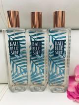 3 New Bath Body Works BALI BLUE SURF Fine Fragrance Mist Spray Full Size - $44.25