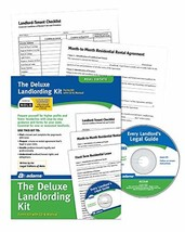 Adams Landlording Kit, Forms and Instructions, Includes CD PK213 - $23.76