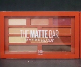 Maybelline The Matte Bar Eyeshadow Palette 300 (10 Shades) Sealed. - $6.74