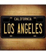 Los Angeles City/College California Vanity License Plate Black - $12.82