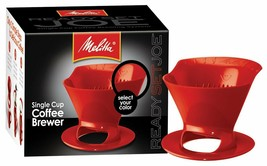 Melitta 64008 Red Ready Joe Filter Cone - $9.89