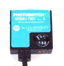 NEW ALLEN BRADLEY 42SMU-7801 ANTI GLARE RETROREFLECTIVE SENSOR SER A 42SMU7801 image 2