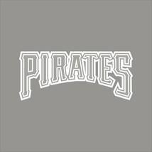 Pittsburgh Pirates #5 MLB Team Logo 1 Color Vinyl Decal Sticker Car Window Wall - $3.95+