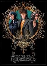 Fantastic Beasts Crimes of Grindelwald Tina Newt and Leta Magnet Harry Potter - $3.99