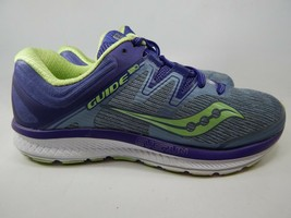 Saucony Guide ISO Size US 8 D (W) WIDE EU 39 Women's Running Shoes Gray S10416-1 - $50.26
