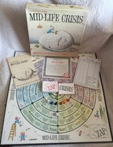 Mid-Life Crisis Board Game 1982 - Can You Survive?  - $7.83