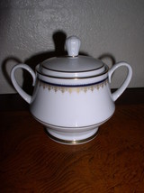 Noritake Contemporary Fine China - Cordon (2217) -  Sugar Bowl & Lid - $21.95