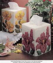 Sundrops & Lilies Boutique Tissue Covers Plastic Canvas PATTERN/INSTRUCT... - $0.90