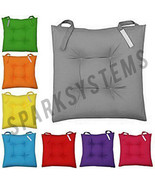 AWESOME NEW COLORFUL DINING ROOM/GARDEN/KITCHEN/CHAIR CUSHIONS WITH TIE ON - $10.22+