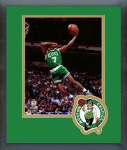 Dee Brown Celtics 1990 Slam Dunk Contest -11x14 Team Logo Matted/Framed ... - $43.55