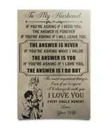 To My Husband Dragon Ball Z Poster - Goku and Chi Chi Poster - Gift Form... - $19.55+