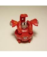 Bakugan Battle Brawler Warious Red Pyrus B2  370G Figure Magnetic Ball   - $6.99