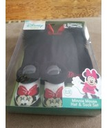 Disney Baby Minnie Mouse Hat and Sock Set costume NWT 0-12 babies - $8.99