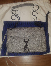 Rebecca Minkoff white fossil leather Heartthrob Morning After Clutch MAC - $90.00