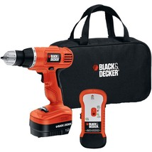 BLACK+DECKER(TM) GCO12SFB 12-Volt Drill/Driver with Stud Sensor Kit - $77.12