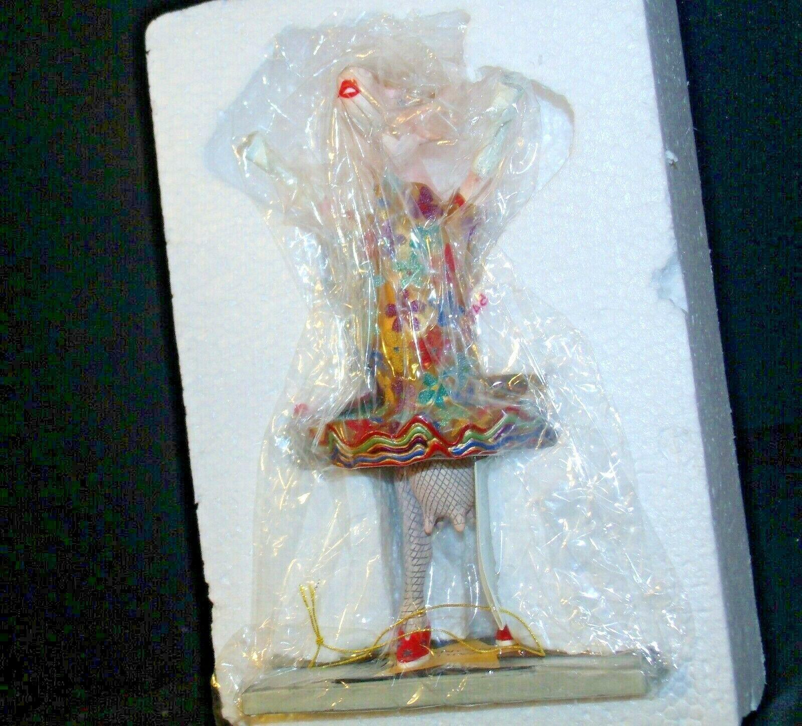 CowParade Dancing Diva Item # 9132 Westland Giftware AA-191940 Collectible (Res