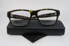 New Authentic Prada Eyeglasses VPR 17S 2AU-1O1 Shiny Havana Size 55mm w/ Case - $84.64