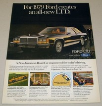 1979 Print Ad The '79 Ford LTD 2-Door All New - $10.08