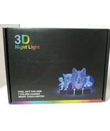 3-D nightlight unicorn new child USB Night Light Changes Colors - $18.16