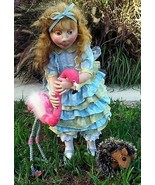 """""""Alice Playing Croquet"""" PDF Digital E-Pattern Download By Suzette Rugolo - $17.00"""