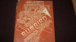 1986 Pontiac Sunbird Service Shop Reparatur Manuell OEM 86 Autohaus Buch... - $54.39