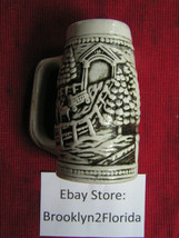 Antique Style Horse Scene Ceramic Mug - $11.75