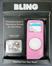 Bling for Apple Ipod Nano Protective Case Decorative Stones DIY Peel Sti... - $5.94