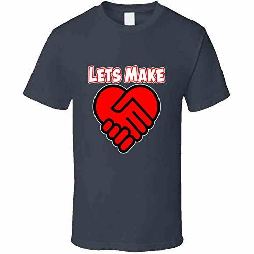 Lets Make A Deal Love T Shirt 5XL Charcoal Grey