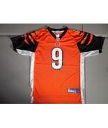 Carson Palmer 9 Screen Reebok Cincinnati Bengals NFL Jersey Youth L 14-1... - $21.53