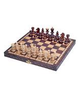Chess Set Paris - High quality, beautiful design,wooden, folding, gift item - $53.52