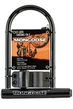 Mongoose Large Bicycle U-Lock Lock For Bike - $8.42