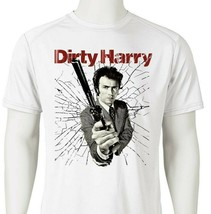 Dirty Harry Dri Fit graphic Tshirt retro 80s movie SPF sun shirt active tee image 1