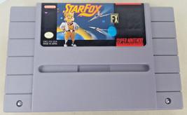 Vintage Starfox 1 Cartridge Cart Only Super Nintendo / SNES - Tested Aut... - $12.00