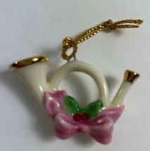 Lenox Miniature Jeweled Christmas Ornament For Family Advent Tree  FRENC... - $14.84