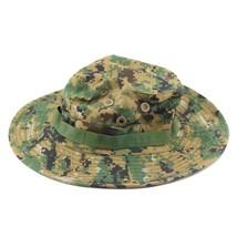 Outdoor Casual Combat Camo Ripstop Jungle Sun Hat Cap Fishing Hiking   D... - $8.54