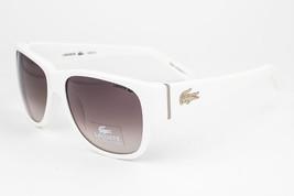 Lacoste  White / Brown Gradient Sunglasses 12625 56 WH - $88.61