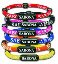 Sabona Athlétique Bracelet Tout Tailles Bleu, Rose, Rouge, Orange Ou Jaune - $15.08
