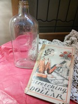Lydia E. Pinkham Medicine Bottle 1929 with BONUS! Stretching Your Dollar Booklet - $20.00
