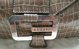 Guess Womens Hand Bag Small Western Style ( crocodile ) brown - $22.47