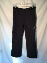 Gap L.L.Bean Black Snow Pants Ski Snowboarding Size 10 Insulated - $12.59