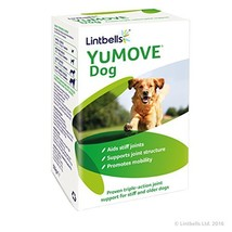 Lintbells YuMOVE Dog Mobility and Joint Health Supplement for Dogs 60 Ta... - $31.59